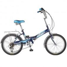 Велосипед  NOVATRACK 20 складной FS30 6 скор Shimano TY-21