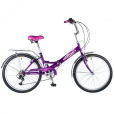 Велосипед  NOVATRACK 24 FS складной 6 скор